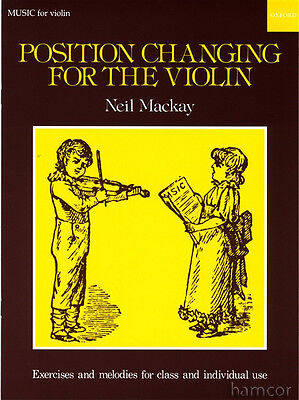 Position Changing for the Violin Sheet Music Book