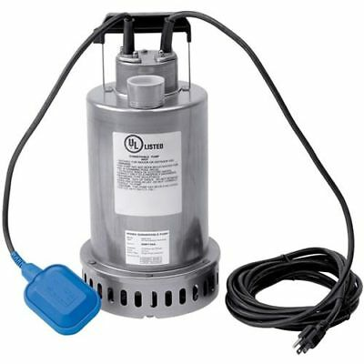"""Honda WSP73AA - 74 GPM (1-1/2""""- 2"""") Submersible Utility Pump w/ Float Switch"""