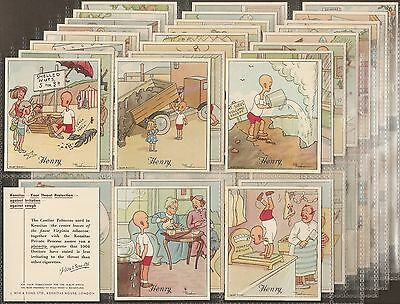 Wix-Full Set Of 50 Large Cards- Henry 5Th Series - Exc