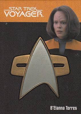 Star Trek Voyager Quotable (2012) Pin 4of9  068/225 Relic