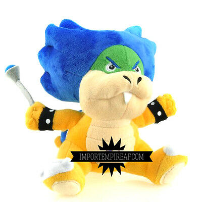 SUPER MARIO BROS LUDWIG VON KOOPA PELUCHE pupazzo plush bowserotto koopalings ds