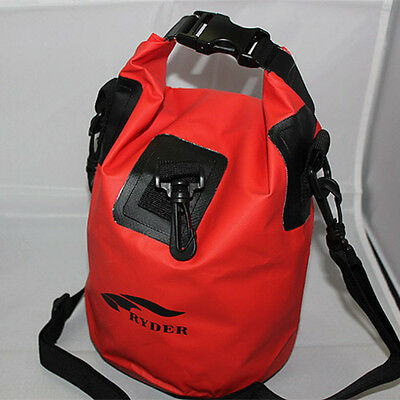 5L Waterproof Dry Bag Sack Pouch Boating Kayaking Camping Rafting Hiking Bag Red