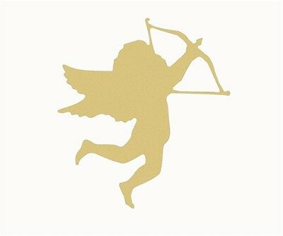 Cupid Unfinished Wood Shape Cut Out Variety Sizes USA Made Valentine's Day Theme