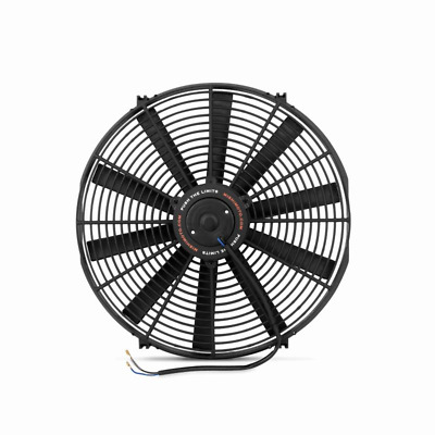 "Mishimoto 16"" Slim Line Electric 12v Fan - Black"