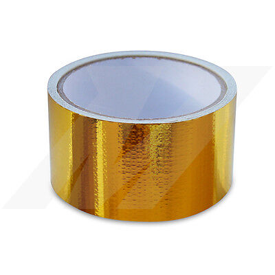 "Mishimoto Gold Heat Defence Reflective Tape - 2"" x 15ft"