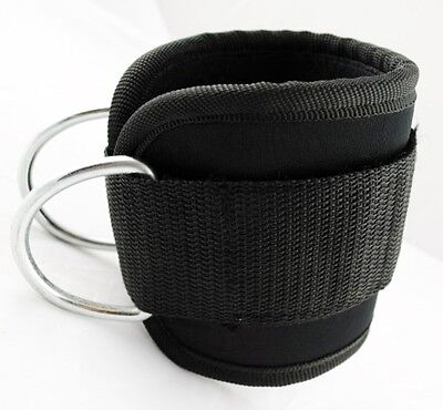 Ankle Straps [PAIR] For Stretching For Leg Pulley For Cable Machine Neoprene