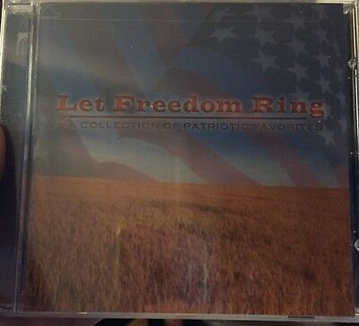 Let Freedom Ring A Collection of Patriotic Favorites (CD)Brand-New FAST Shipping