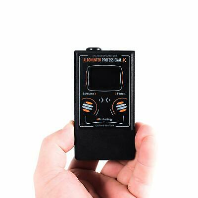 Alcohol Tester & Disposable Breathalysers I4Technolody AlcoHunter Prof X