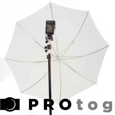 "43"" 109cm White Shoot Through Photographic Studio Photo Umbrella"