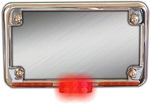Kisan 3 Function Vectra Chrome License Plate LED Array