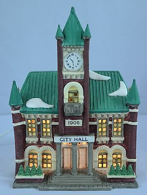 Dept 56 1988 Heritage Village Collection Christmas in the City Series City Hall