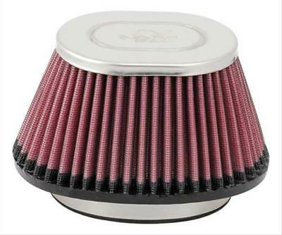 K&N Air Filter Filtercharger Oval Tapered Cotton Gauze Red Fits GM TPI Throttle