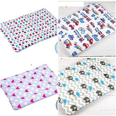 Soft Changing Mat Patterned Baby Cotton Nursery Mat For Changing Unit