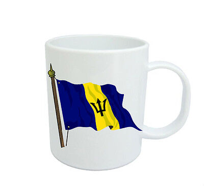 Barbadian  Flag  Coffee Mug Free Personalisation  Barbados