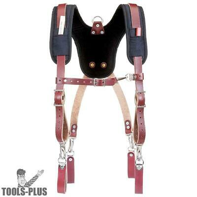 Stronghold Suspension System Padded Suspenders Occidental Leather 5055 New