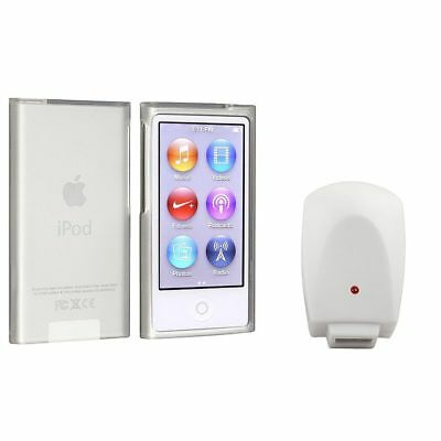 Frost Clear White TPU Case+1A White Mains AC Charger For iPod Nano 7 7G 7th Gen