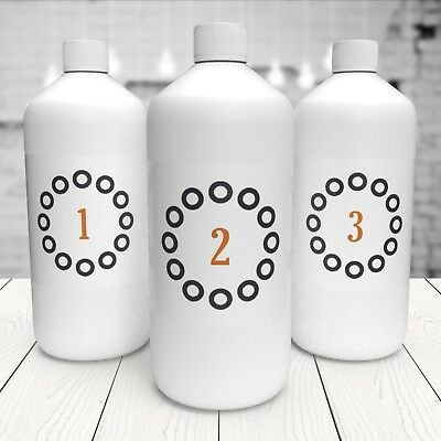 3 x 1000ml 'Combo Pack' Suntana Spray Tan Solution - Choose any 3 x litres