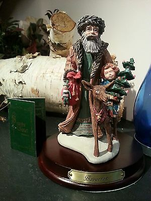 Duncan Royale Santas BAVARIAN SANTA Limited Collectible porcelain Figurine nos