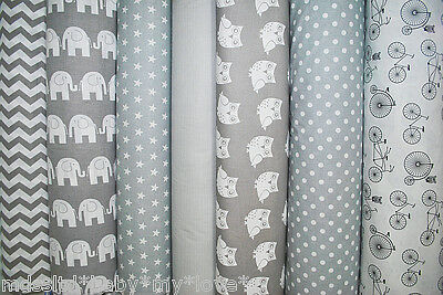 """NEW 100% COTTON PRINTED  FABRIC MATERIAL - by the METRE -wide 160 cm (64"""")"""
