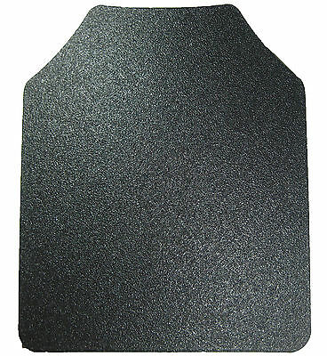 Body Armor | AR500 Steel Plate | Base Frag Coating | Level III 10x12- SINGLE