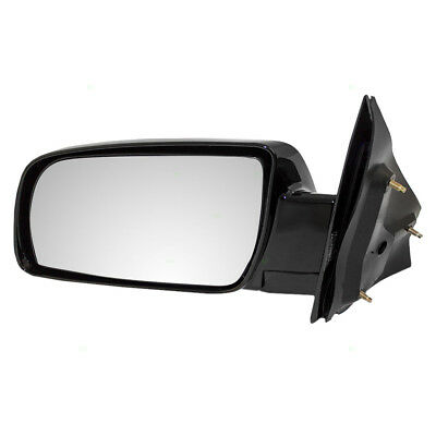New Drivers Manual Side View Mirror Glass Housing Assembly 88-05 Chevy GMC Van