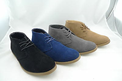 Brand New Men's Suede Casual Ankle Chukka Dress Boots Size 7.5-12