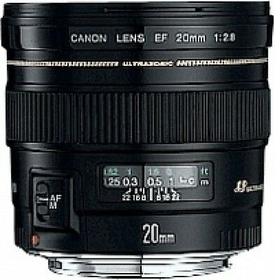 Canon - Objectif Grand Angle 20 mm f/2.8 USM - Canon - Objectif Grand NEUF