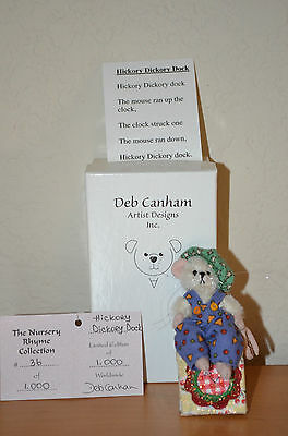 """Deb Canham's  """"HICKORY DICKORY DOCK"""" The Nursery Rhyme Collection 36/1000 MIB"""