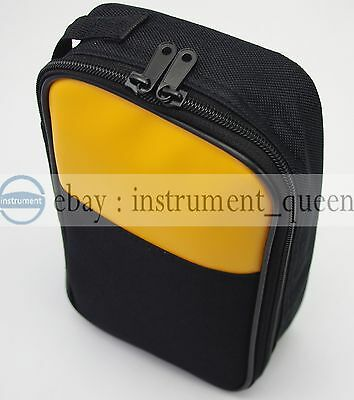 Soft Case/bag for Fluke multimeters hioki sanwa Kyoritsu victor Uni-T UT61E
