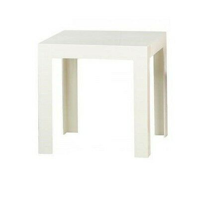 Kartell Jolly / 8850E5 Table d'appoint Blanc brillant Import Allemagne  NEUF
