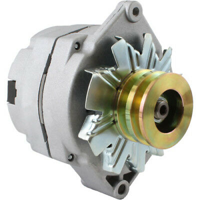 Alternator for Tractor & Chevy 10SI 1-Wire One Wire with 2 Groove Pulley