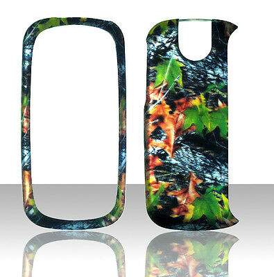 Camo Leaves Pantech Impact P7000 AT&T Case Cover Hard Phone Snap on Cases