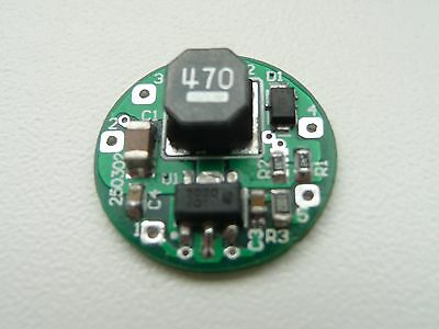 LED Lamp Driver DC/DC 7-30V to 1.8 to 28V 700mA with PWM dimming Round Shape