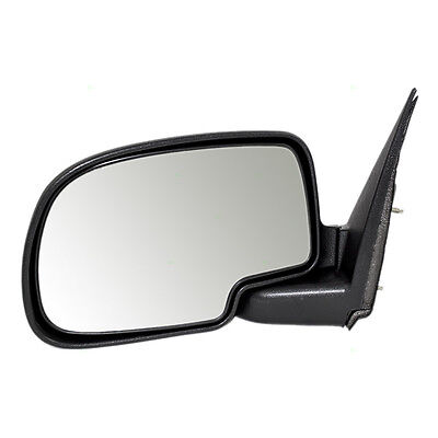 New Drivers Manual Side Mirror Textured Assembly Chevy Pickup Truck SUV