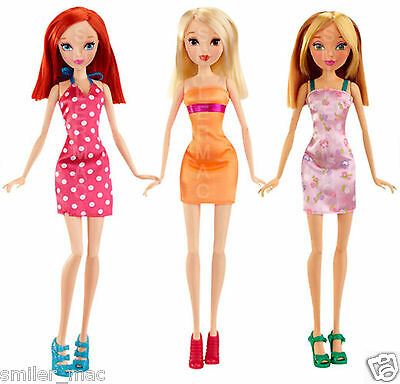 Winx Club City Fashion Doll BLOOM, STELLA or FLORA 12in/30cm