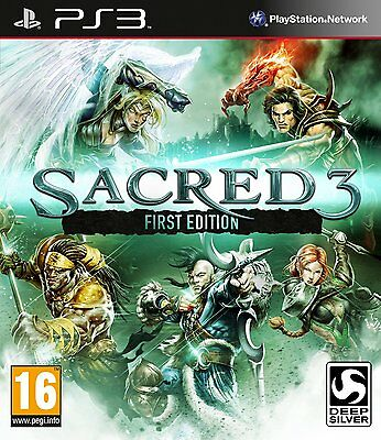 * PLAYSTATION 3 NEW SEALED GAME * SACRED 3 - First Edition * PS3