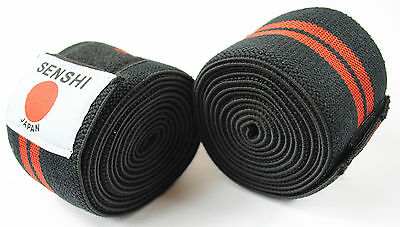 Knee Support Knee Wraps Knee Straps Weight Lifting Training Elasticated Olympian