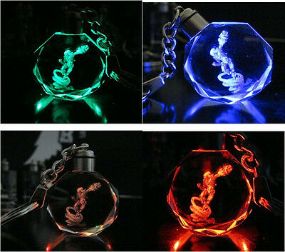 New!League Of Legends All Star Crystal 7 Color Flash LED Light Keychain-EZ