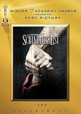 Schindler's List  (DVD, 2004, Widescreen Edition) NEW, Free Shipping