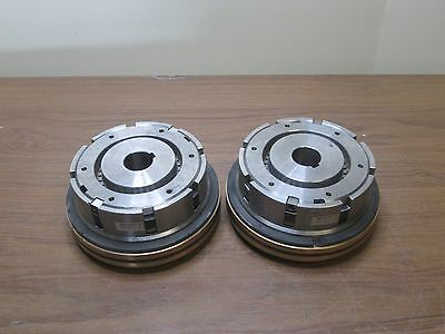 "24V Electromagnetic Clutch Emc-N170/l-Cx 8"" Dia Used Qty. 2"