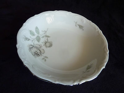 "Mystic Rose Mitterteich Bavaria Germany 5.25"" Fruit Dessert Dinner Bowl"