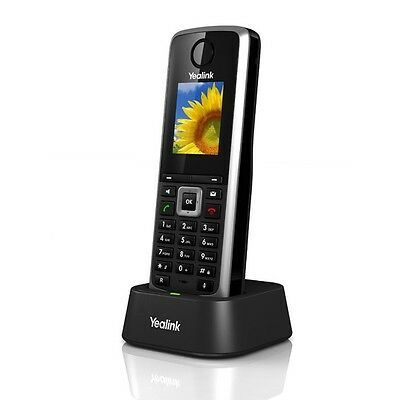 Yealink W52H 5 Line VoIP SIP Cordless Business HD IP DECT Phone Handset OPEN BOX