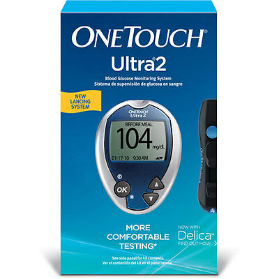 One Touch Ultra 2 Blood Glucose Monitoring System  Exp:2/2018