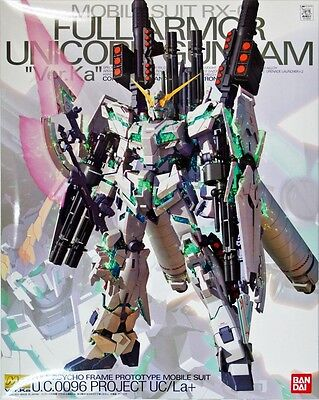 Bandai MG 728180 GUNDAM RX-0 Full Armor Unicorn Gundam Ver.Ka 1/100 scale kit