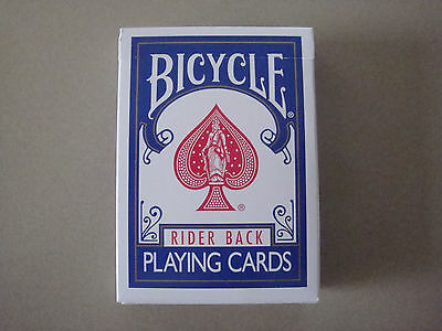 Blank Face Blank Back Bicycle Deck Poker Size Gaff Playing Cards - Magic Tricks