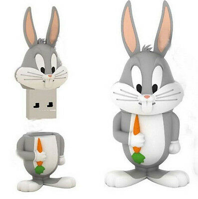 New Bugs Bunny Model USB 8GB 2.0 Enough Memory Stick Flash pen Drive BA10