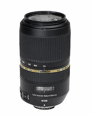 Tamron Objectif SP AF 70-300mm F/4-5,6 Di USD Monture Sony [Noir] - SP NEUF