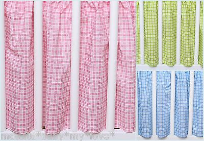 VALANCE SHEET/ DUST RUFFLE/COT BEDSKIRT/BED SKIRT  fitS BABY COT 120 X60 CM