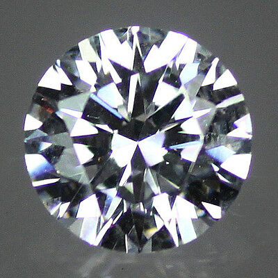 5x Brillant Rond Zircon Cubique 1mm à 3mm