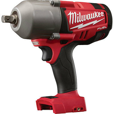 "Milwaukee M18 Fuel 1/2"" High Torque Impact w/ Detent Pin (Tool Only) 2762-20 New"